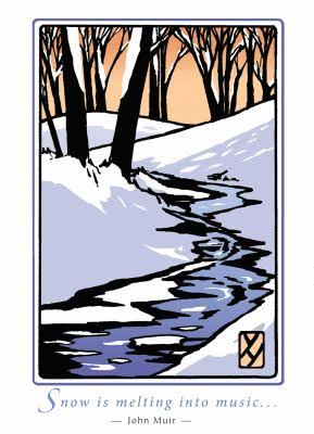Snow by Muir (Boxed): 6 Individual Cards - Bruce Smith