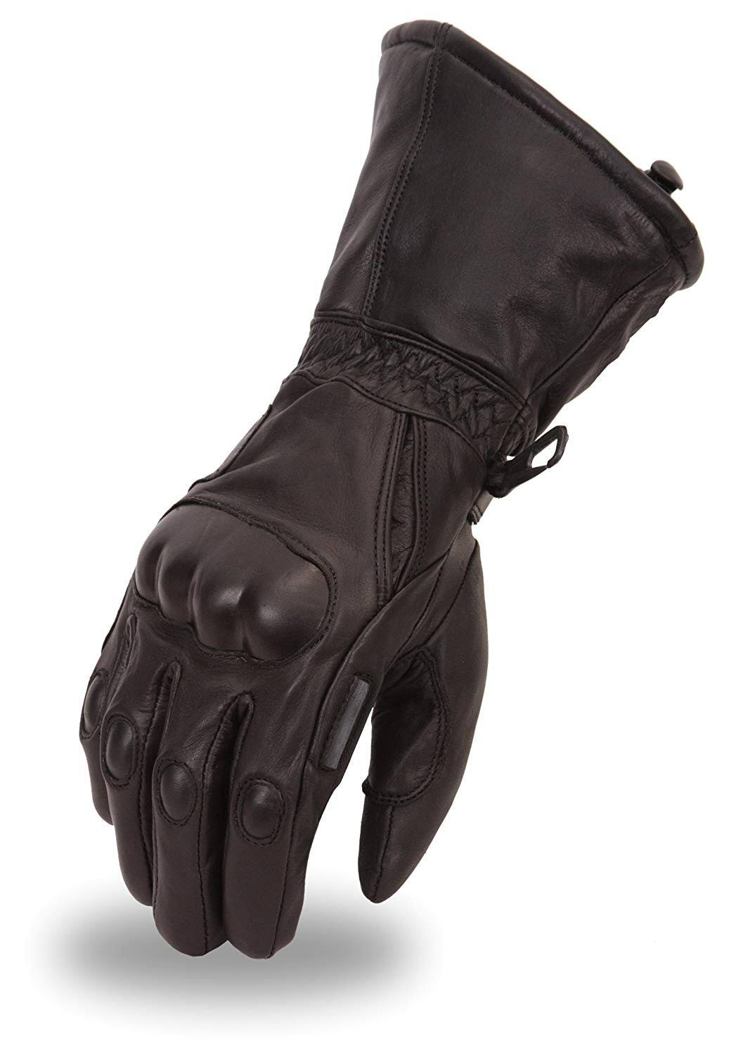 First Manufacturing Leather Waterproof Gaunlet Gloves - X-Large