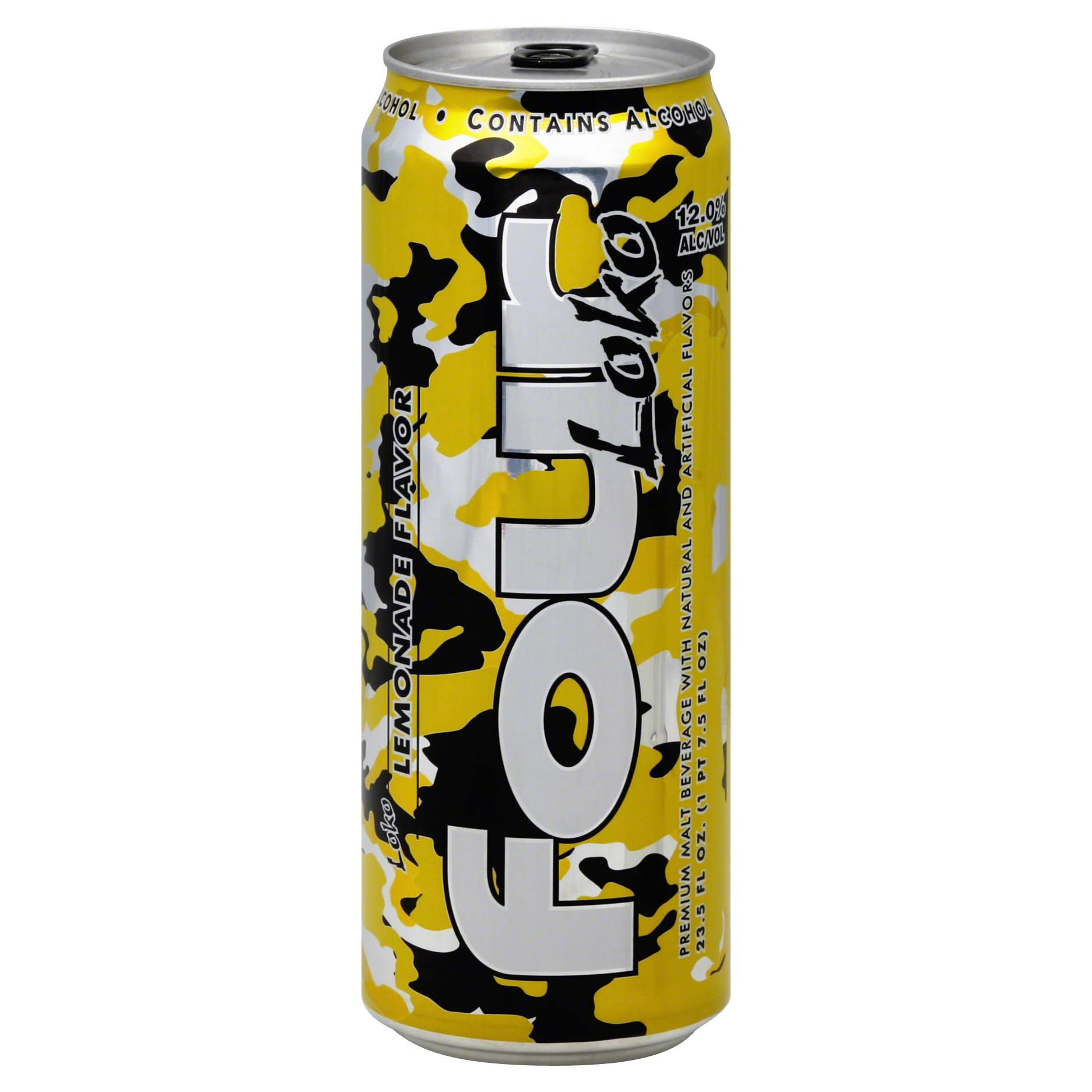 Four Loko Malt Beverage - Lemonade, 24oz