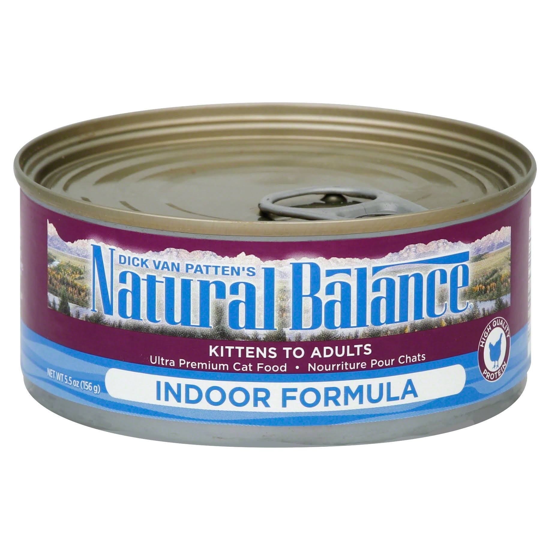 Natural Balance Cat Food - Indoor Formula