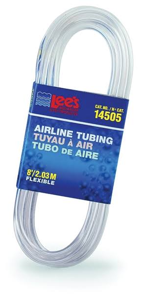 Lee's Airline Tubing - 8', Standard