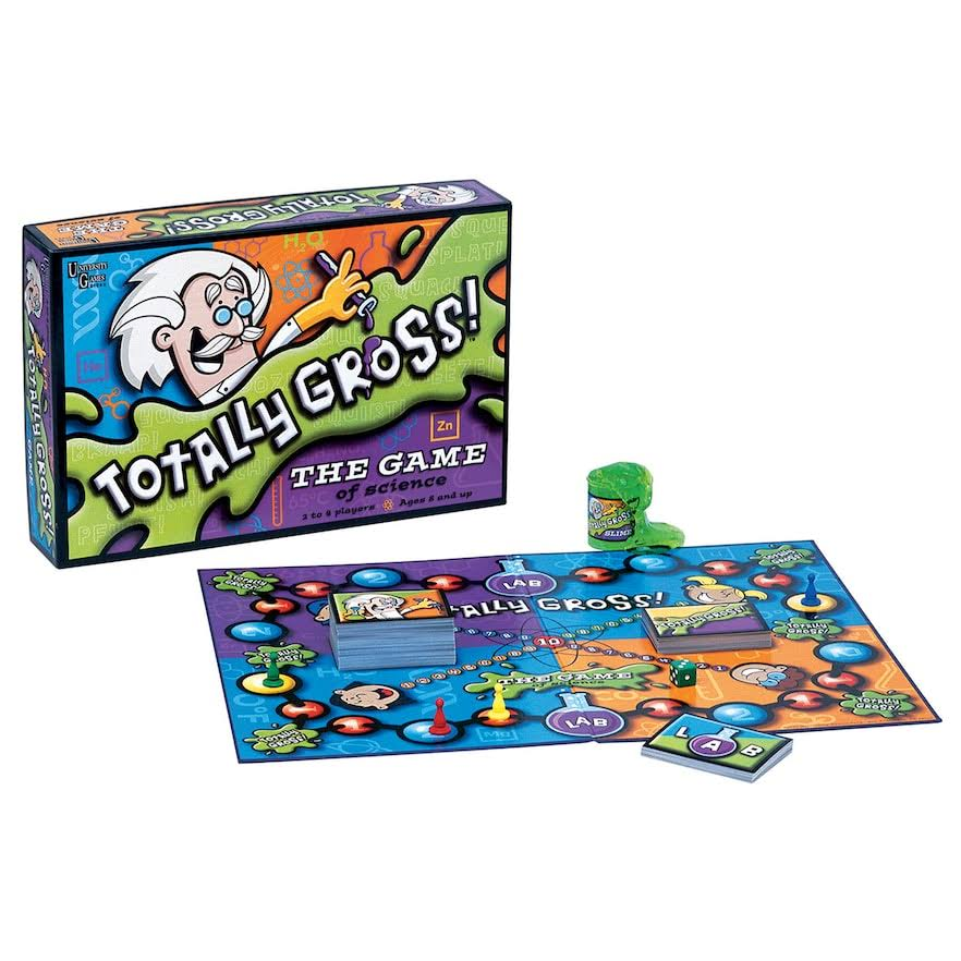 University Games Totally Gross Board Game - The Game of Science