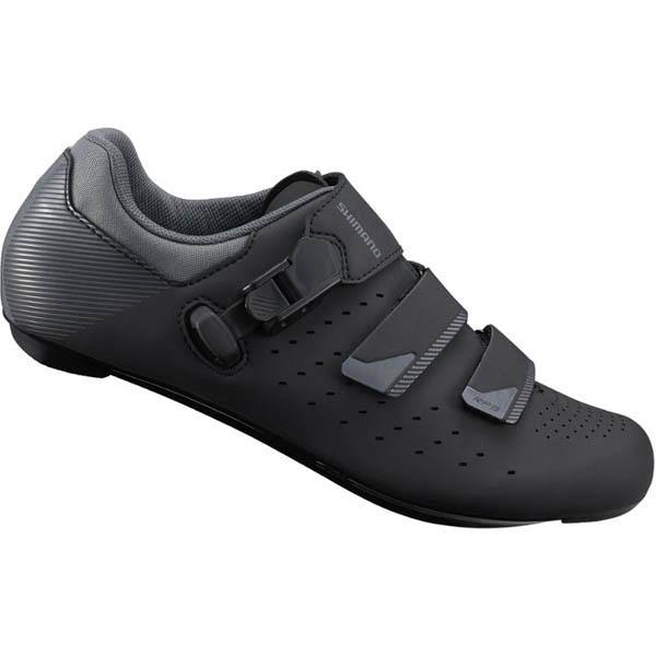Shimano Men's SH-RP301 Road Bike Cycling Shoes - Black, 42 EU