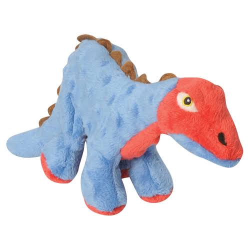 goDog Dinos with Chew Guard Technology Tough Plush Dog Toy