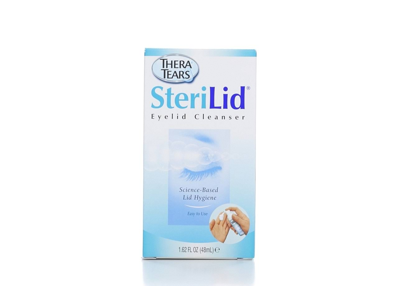 Thera Tears Sterilid Eyelid Foam Scrub - 48ml