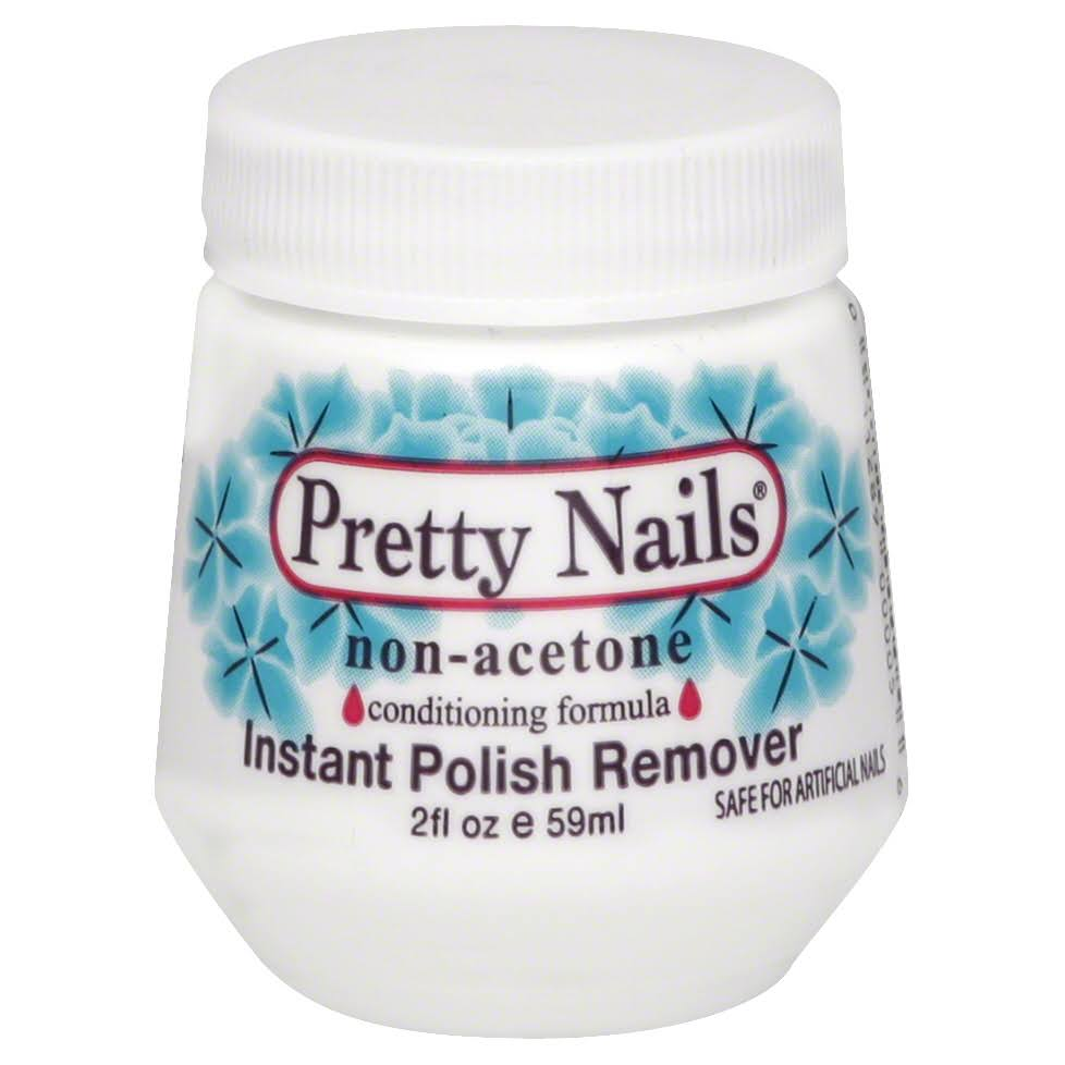 Pretty Nails Instant Polish Remover - 2 fl oz