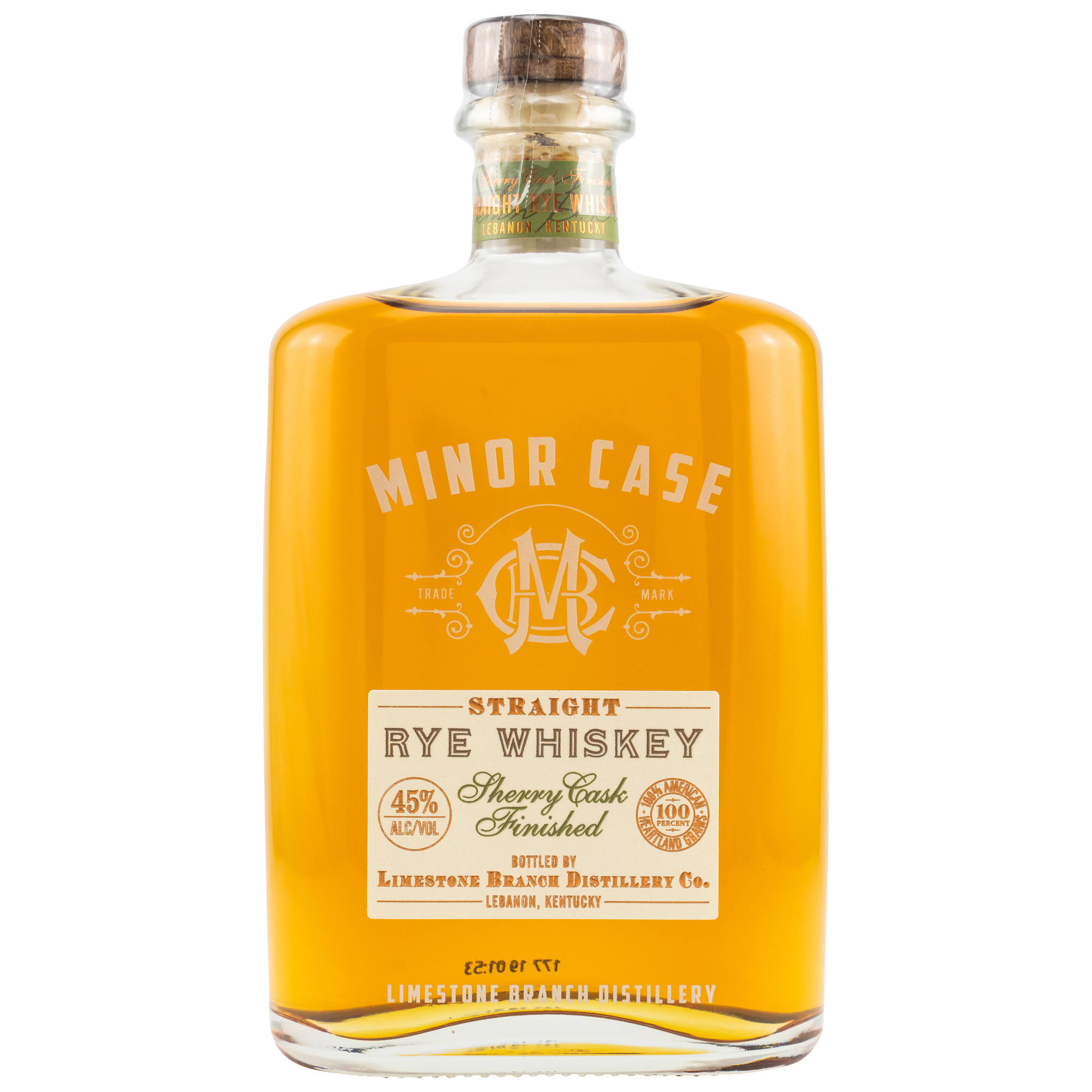 Minor Case Straight Rye Sherry Cask 750ml