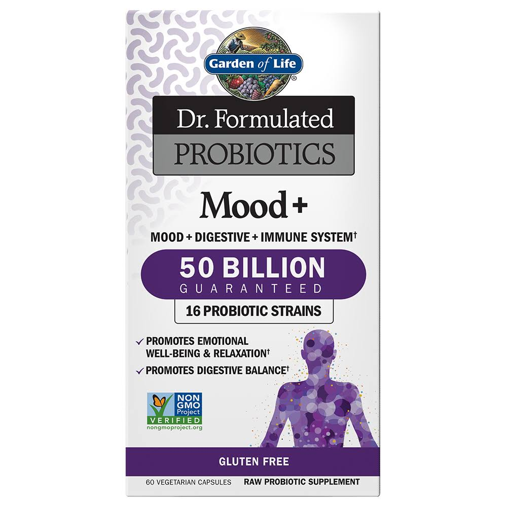 Garden of Life Dr. Formulated Probiotics Mood Plus Capsules