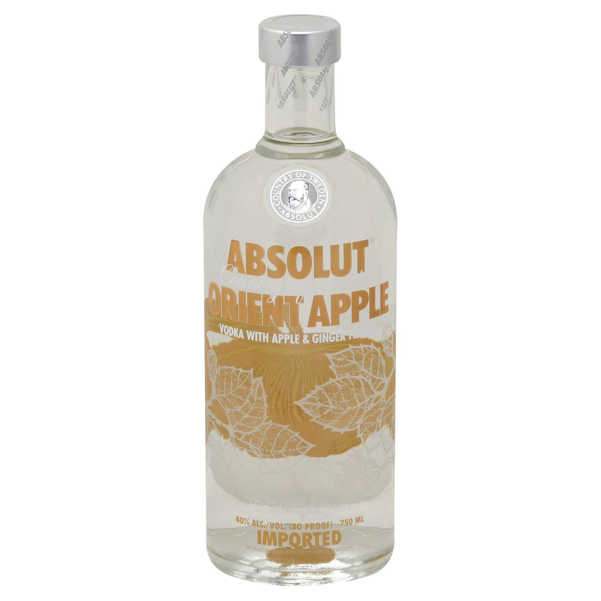 Absolut Vodka - Orient Apple