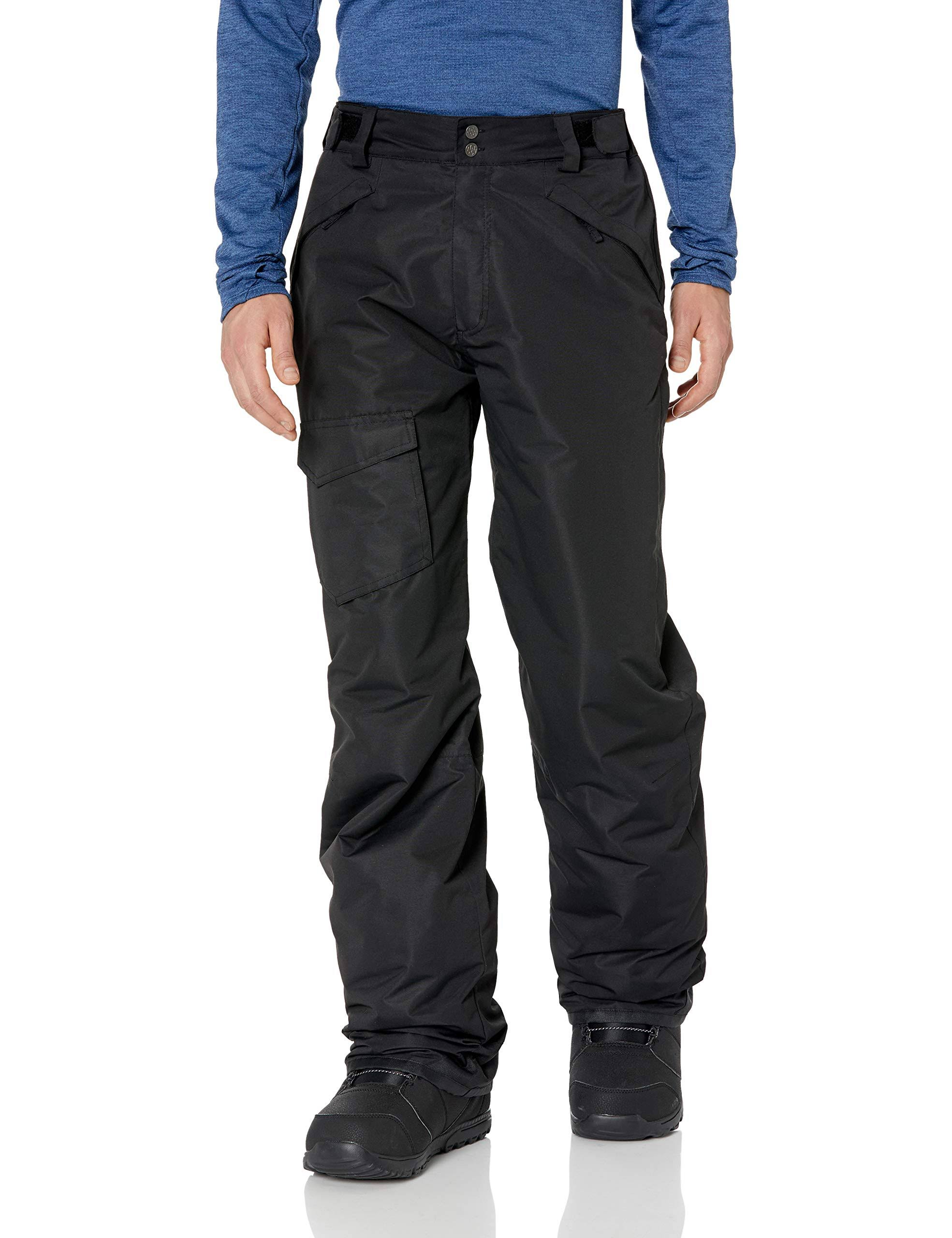 Pulse Men's Black Rider Ski/Snowboard Pants