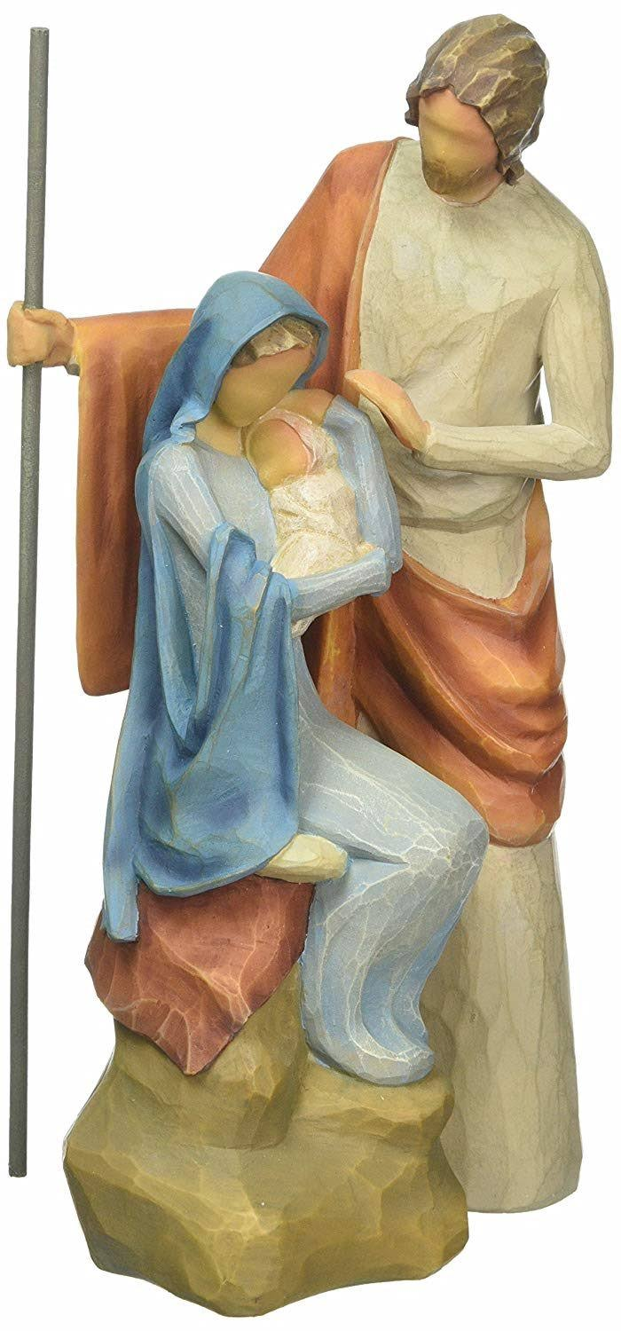 Enesco Willow Tree The Holy Family Figurine