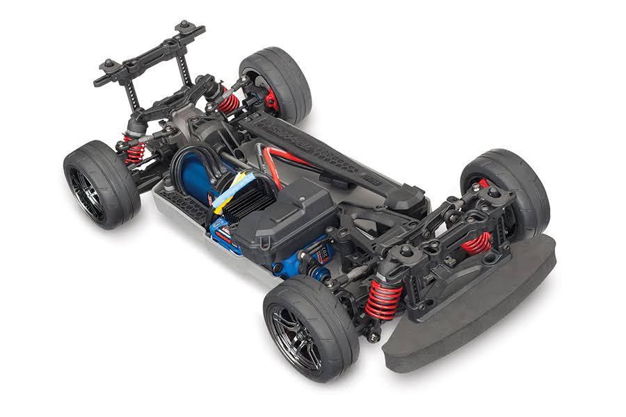 Traxxas 4TEC 2.0 VXL-3S Brushless AWD Chassis - without Body