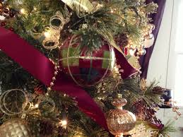 Raz Gold Christmas Trees by Burgundy U0026 Gold Christmas Tree By Ribbonista Leah Farrar White