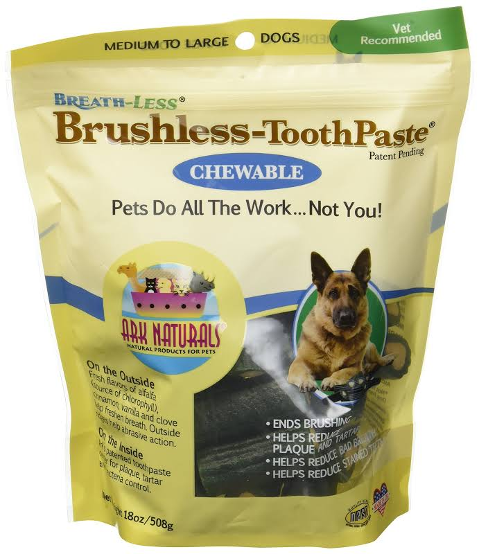 Ark Naturals Breathless Brushless Toothpaste for Sm Dogs 12 Oz