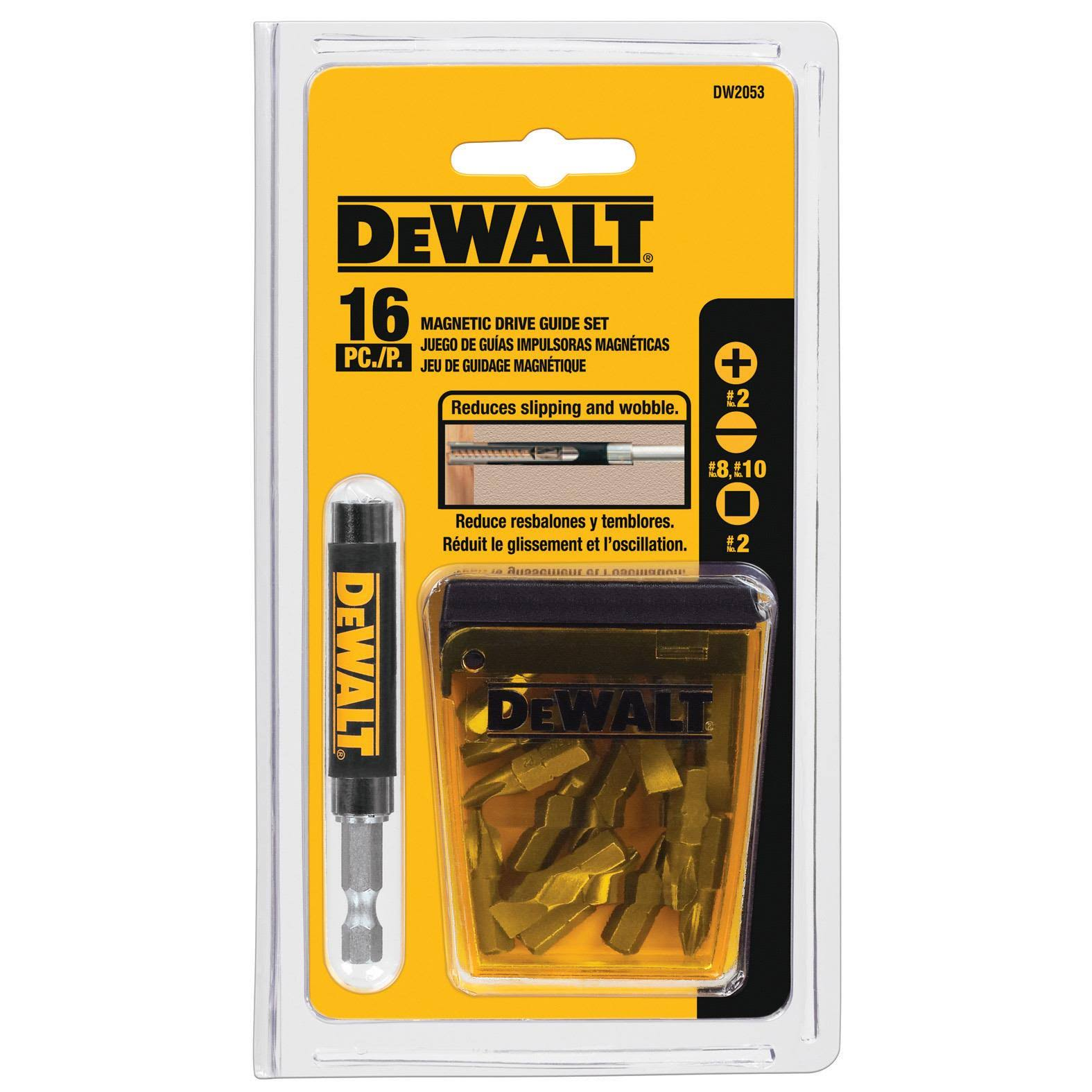Dewalt Accessories Magnetic Driver Guide Set - 16pcs