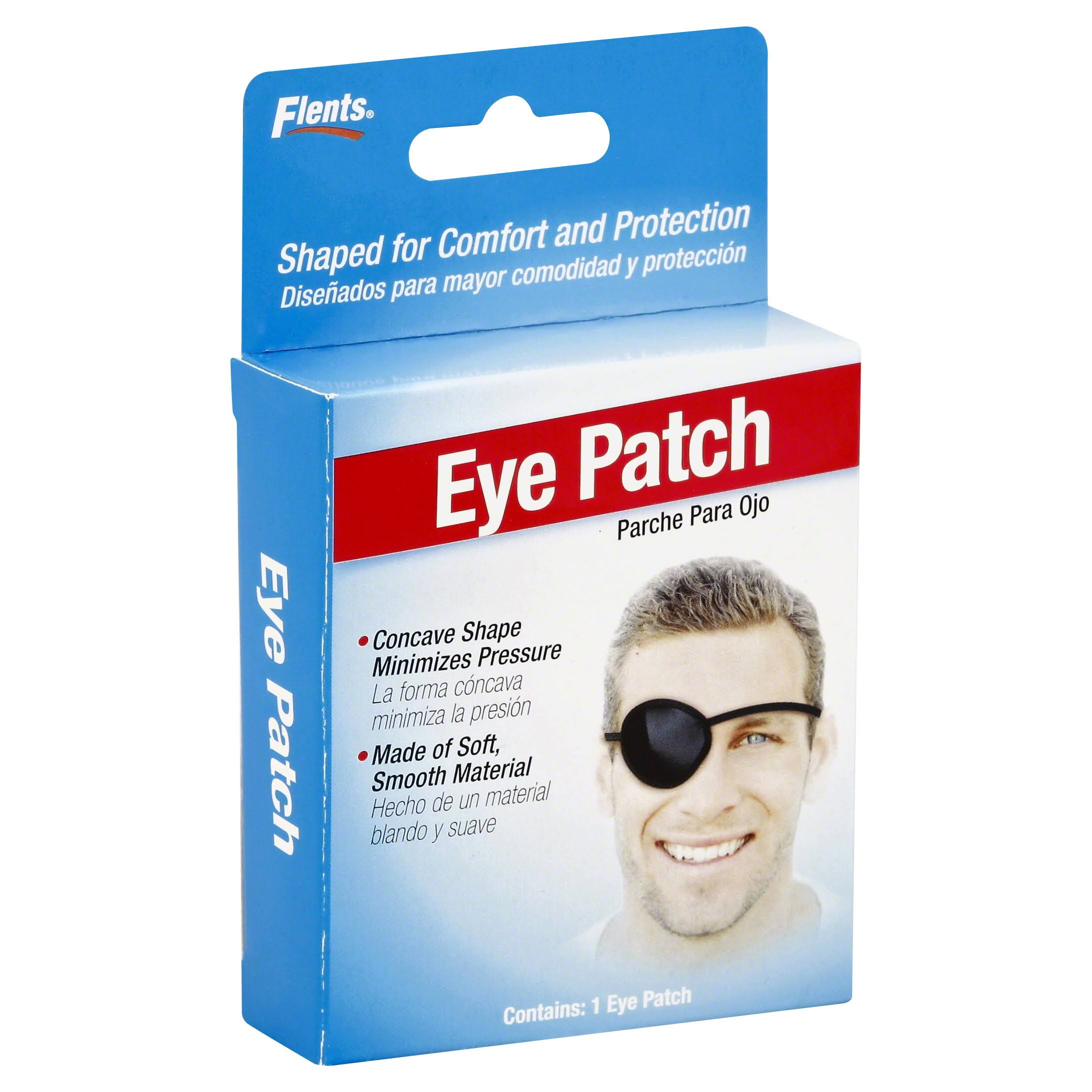 Flents Eye Protection Concave Eye Patch - One Size Fits All