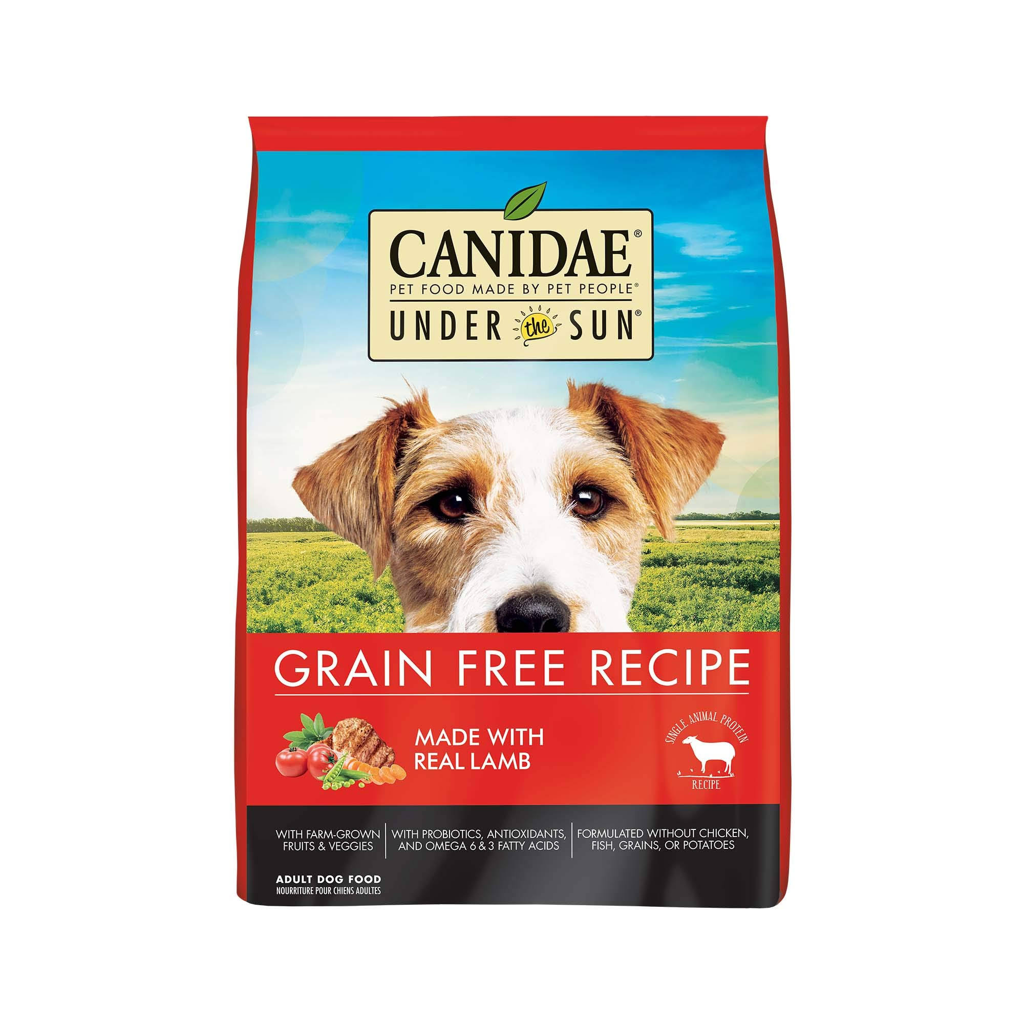 Canidae Grain Free Under The Sun Lamb Dry Dog Food, 23.5 lb