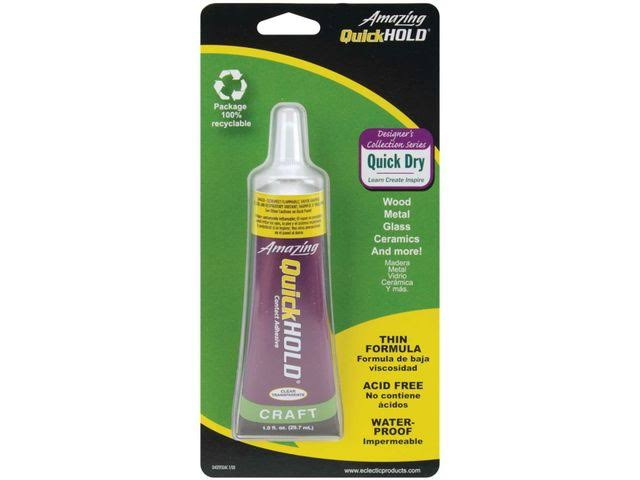 Amazing Quick Hold Craft Contact Adhesive - 1oz