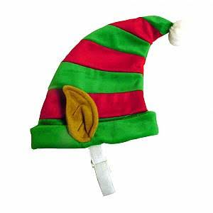 Outward Hound Kyjen Elf Dog Hat - Medium, Red and Green
