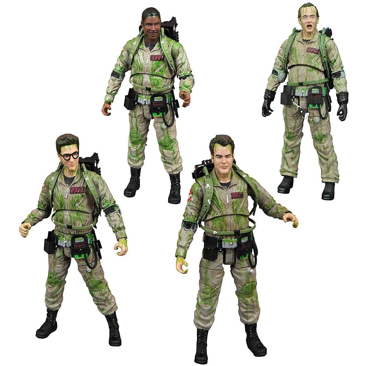 Ghostbusters Slimed Action Figure Box Set - Scale 1:10