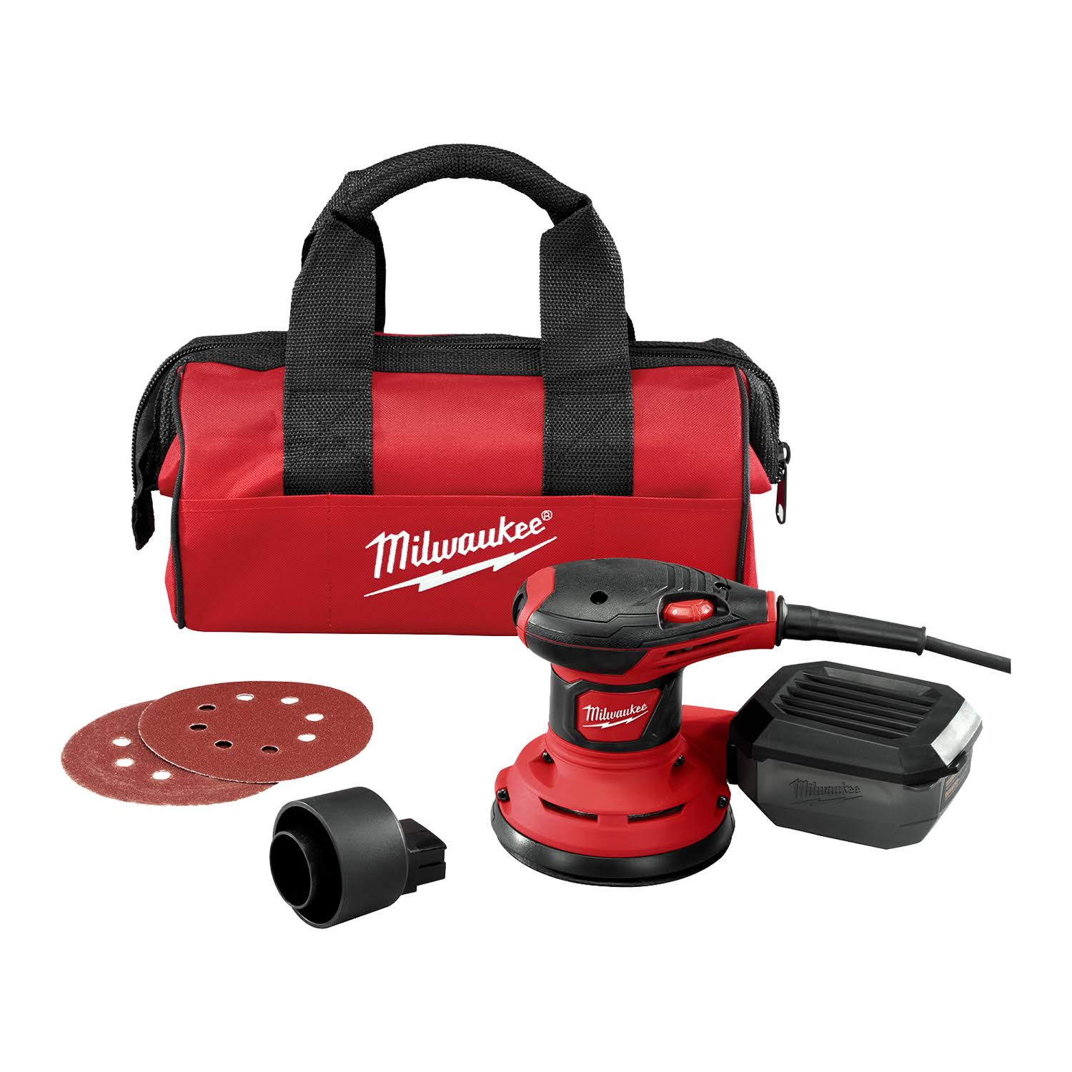 Milwaukee Corded Random Orbit Palm Sander - 3 Amp, 5""