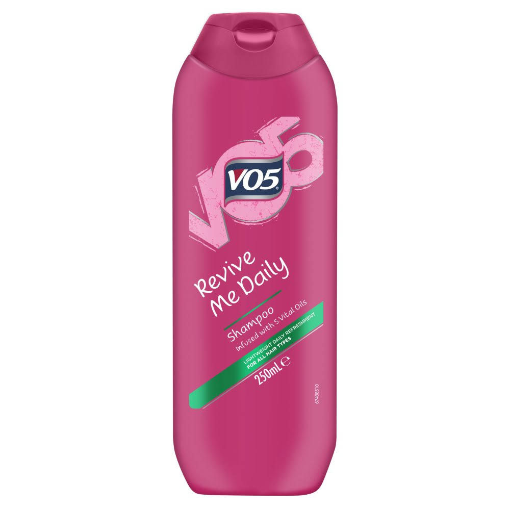 VO5 Revive Me Daily Shampoo - All Hair Types, 250ml