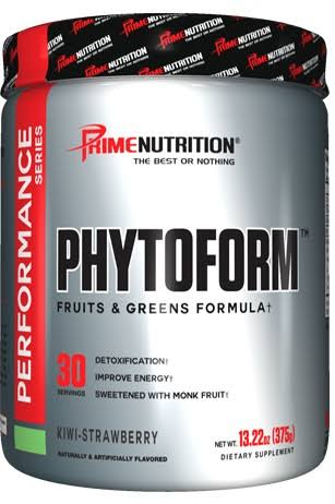 Prime Nutrition Phytoform Supplement - Kiwi Strawberry, 375g