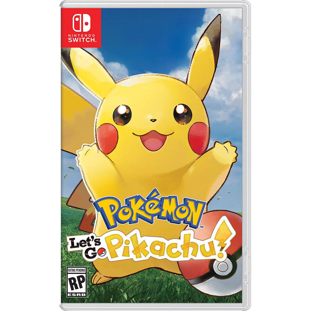 Pokémon: Let's Go Pikachu! - Nintendo Switch