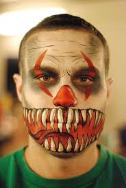 Evil Clown Pumpkin Stencils by 17 Best Sick Facepaint Images On Pinterest Make Up Costumes And
