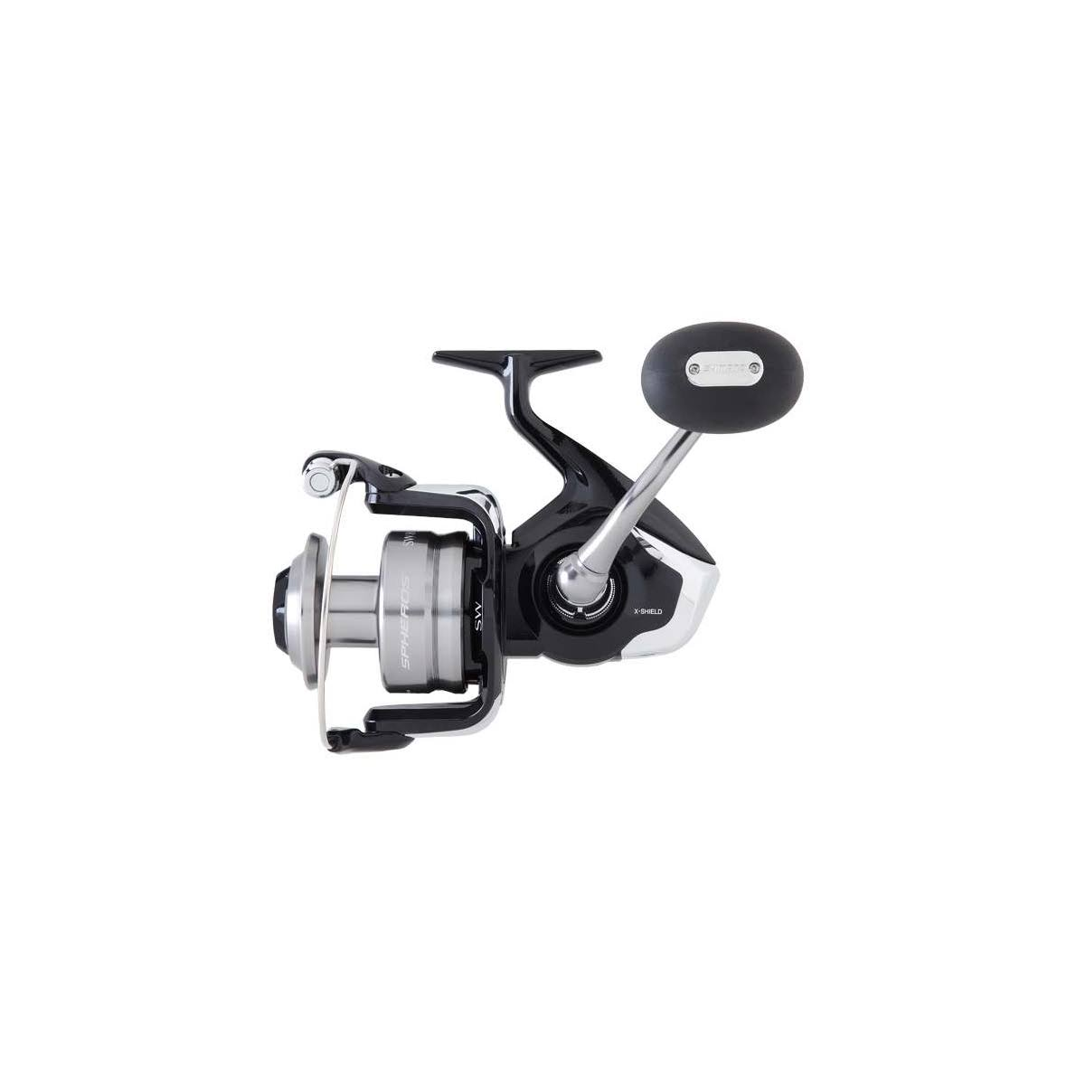 Shimano Spheros 8000 Sw Spinning Reel - Black