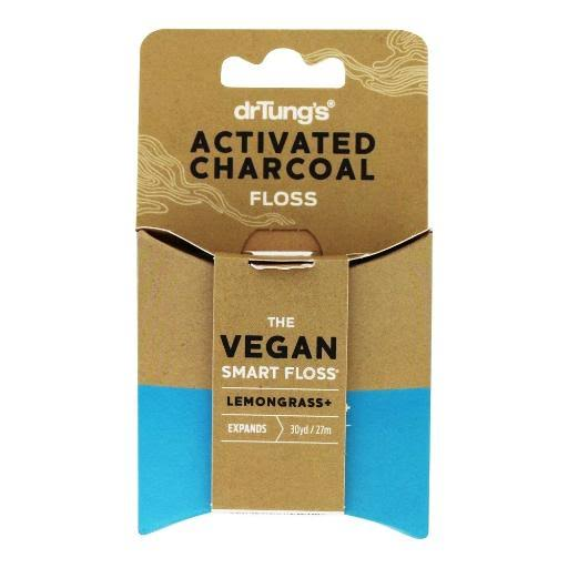 Dr. Tung's Activated Charcoal Floss - 30yds
