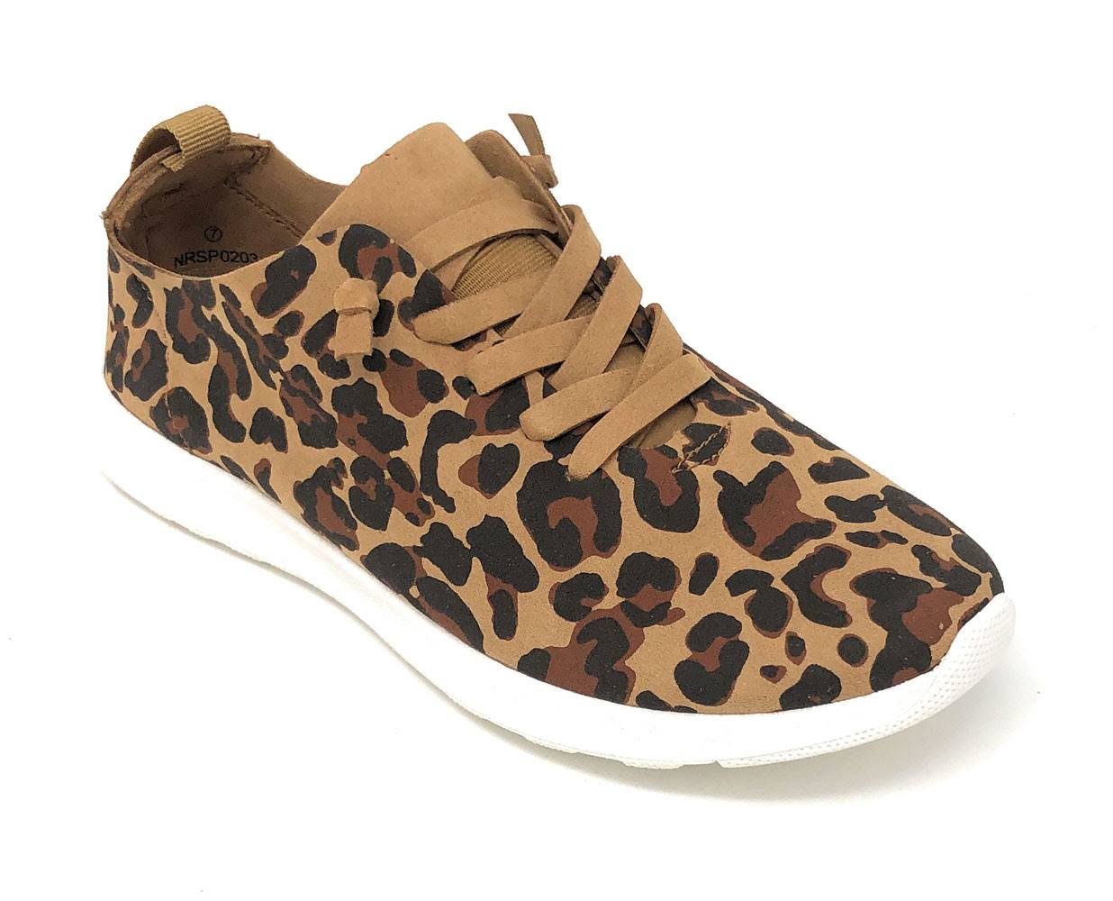 Not Rated Women's Mayo Oxford Shoes - Leopard, 10 US