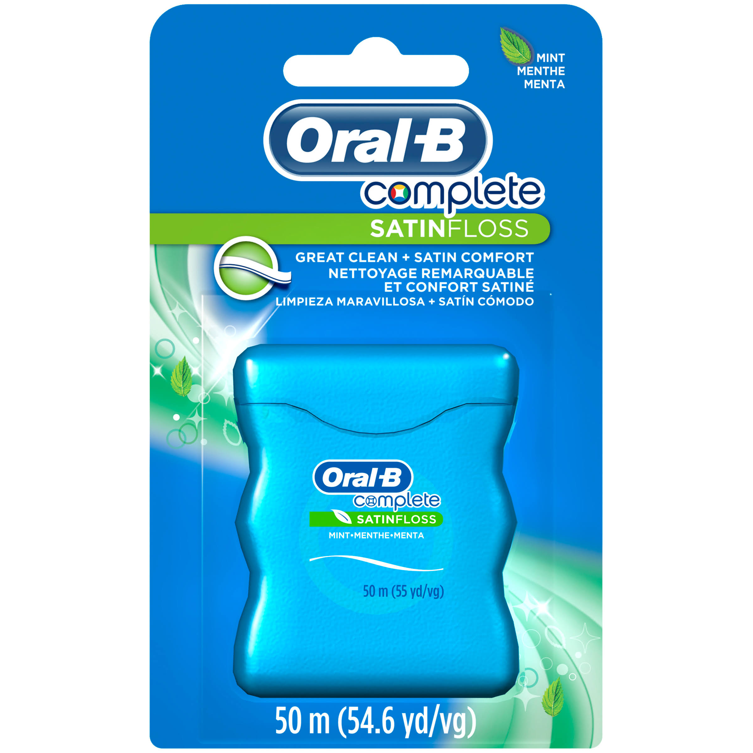 Oral-B Satin Floss - Mint, 50m