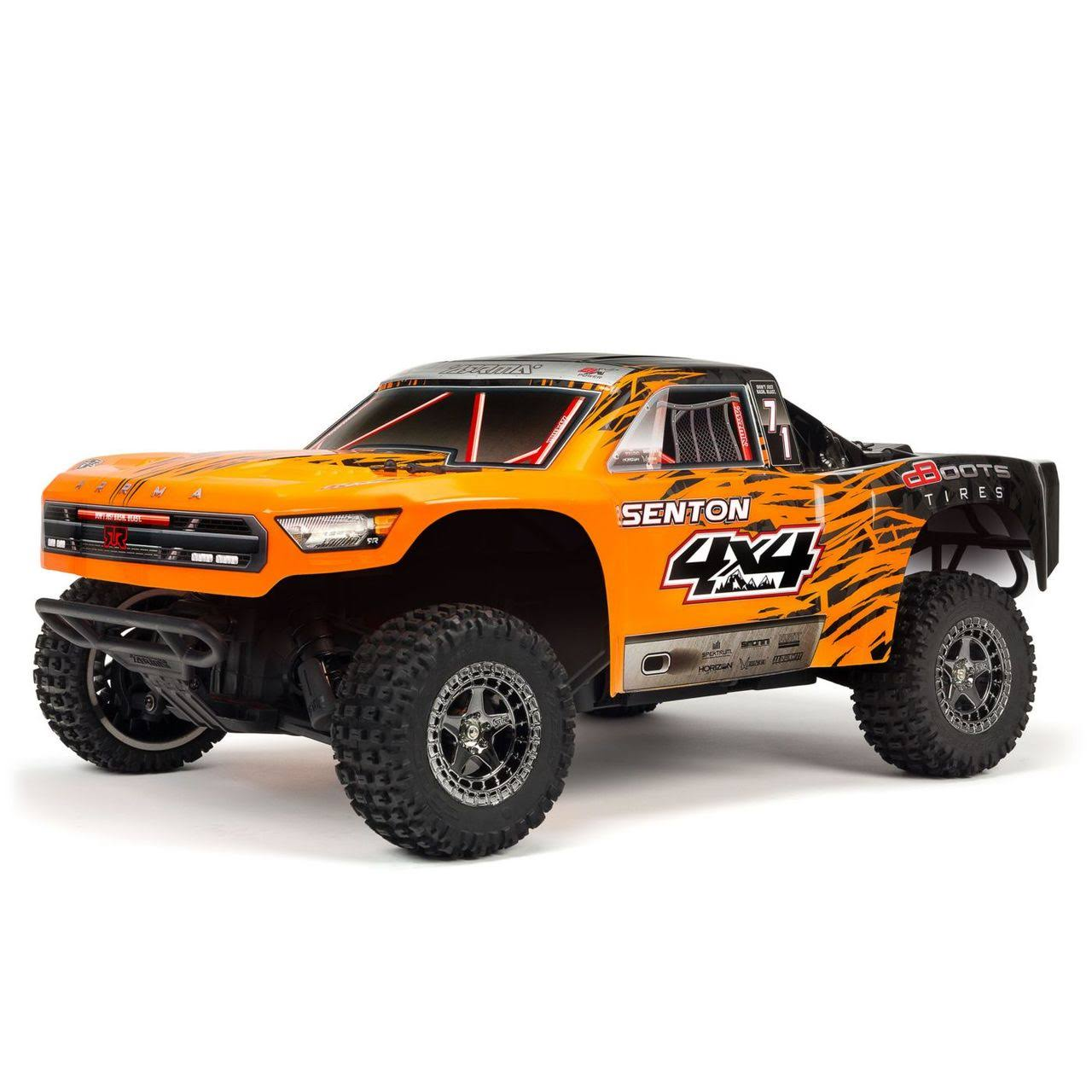 Arrma 102721T2 - 1/10 Senton 4x4 3S BLX 4WD SC Orange/Black