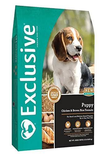 Exclusive Puppy Chicken Brown Rice - 3003116-746