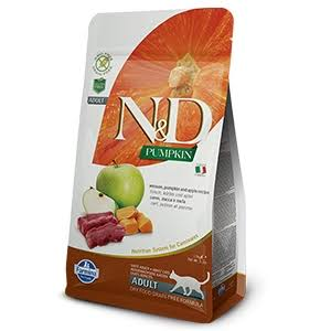 Farmina N&D Venison, Pumpkin and Apple Cat Food - 3.3 lbs.