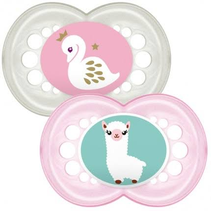 MAM 12m+ Original Soother (Pink)