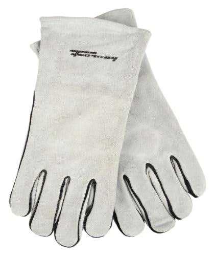 Forney Gray Leather Welding Gloves - XL