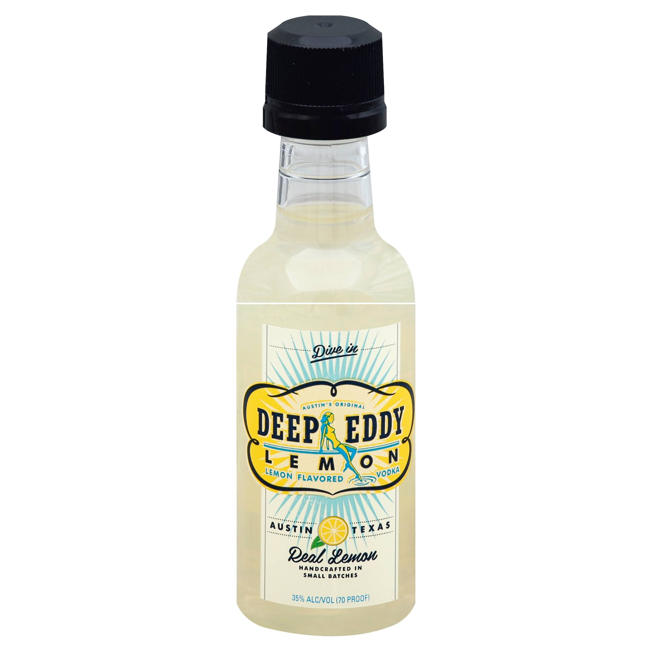Deep Eddy Handmade Spirits Lemon Vodka