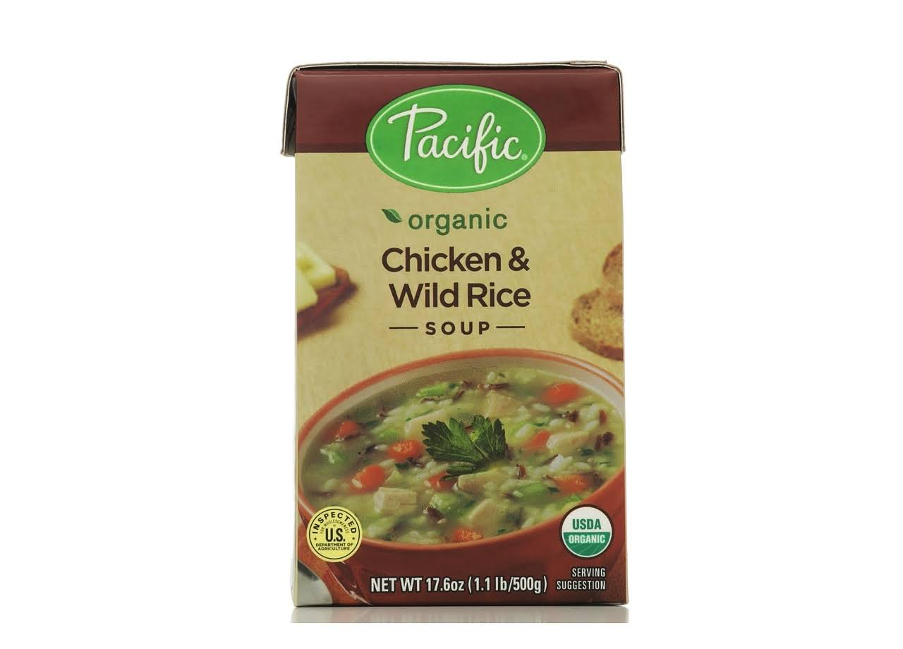 Pacific Foods Organic Chicken & Wild Rice Soup - 500g