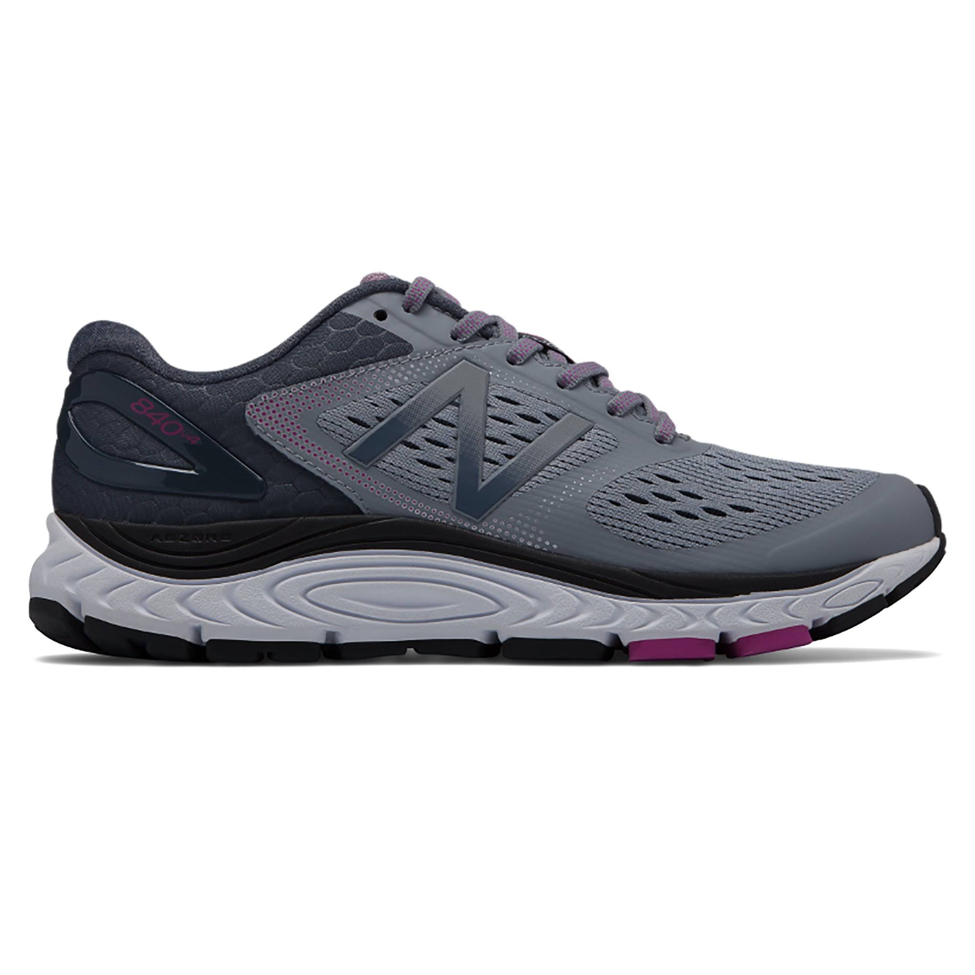 New Balance 840v4 Women's Running Shoes - Cyclone/Poisonberry, Size 10.5