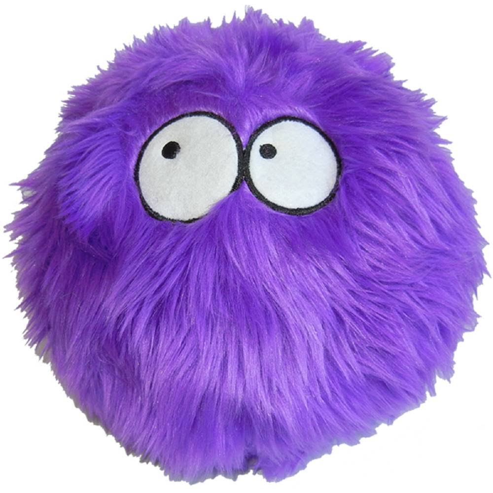 Godog Furballz Plush Dog Toy - Purple