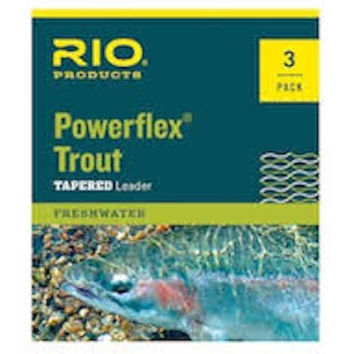 Rio Powerflex Trout Leader 3 Pack 7.5ft / 5X