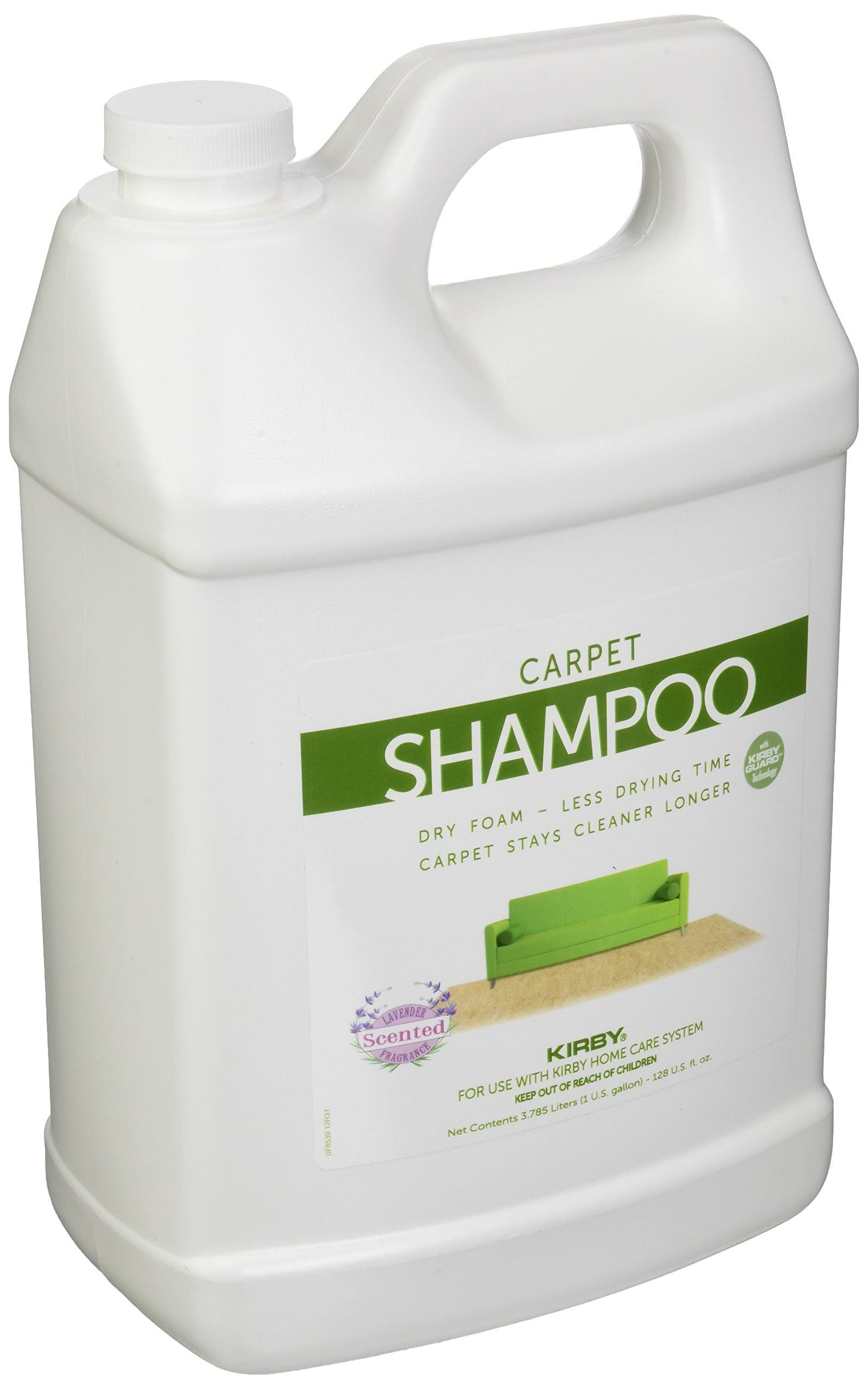 Kirby 252802 Carpet Shampoo - 1gal