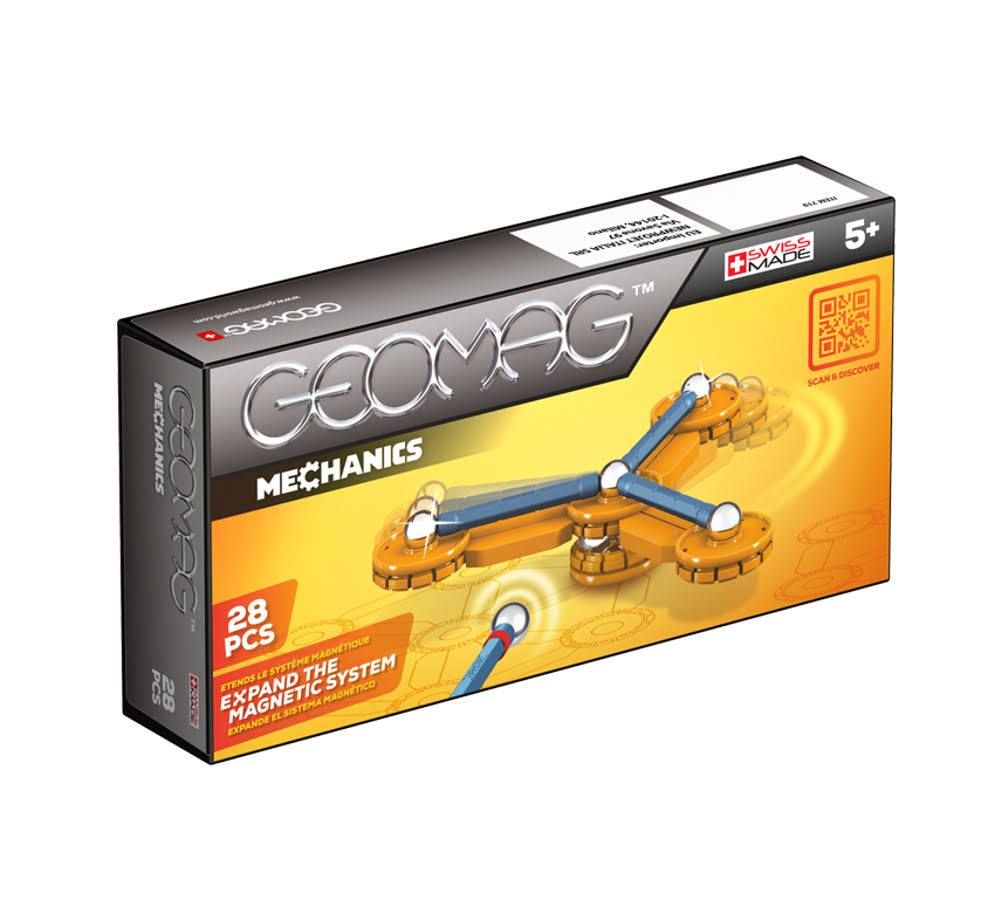Geomag Mechanics Construction Set - 28 Piece