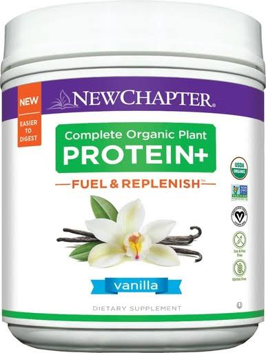 New Chapter Plant Protein Supplement - Chocolate, 438g