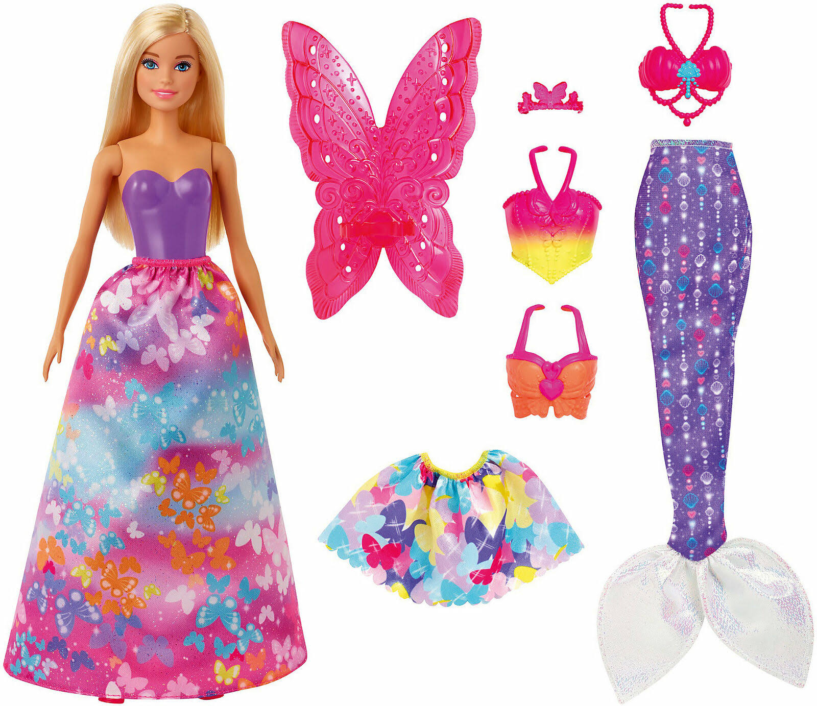 Barbie Dreamtopia Dress-Up Fashion Doll