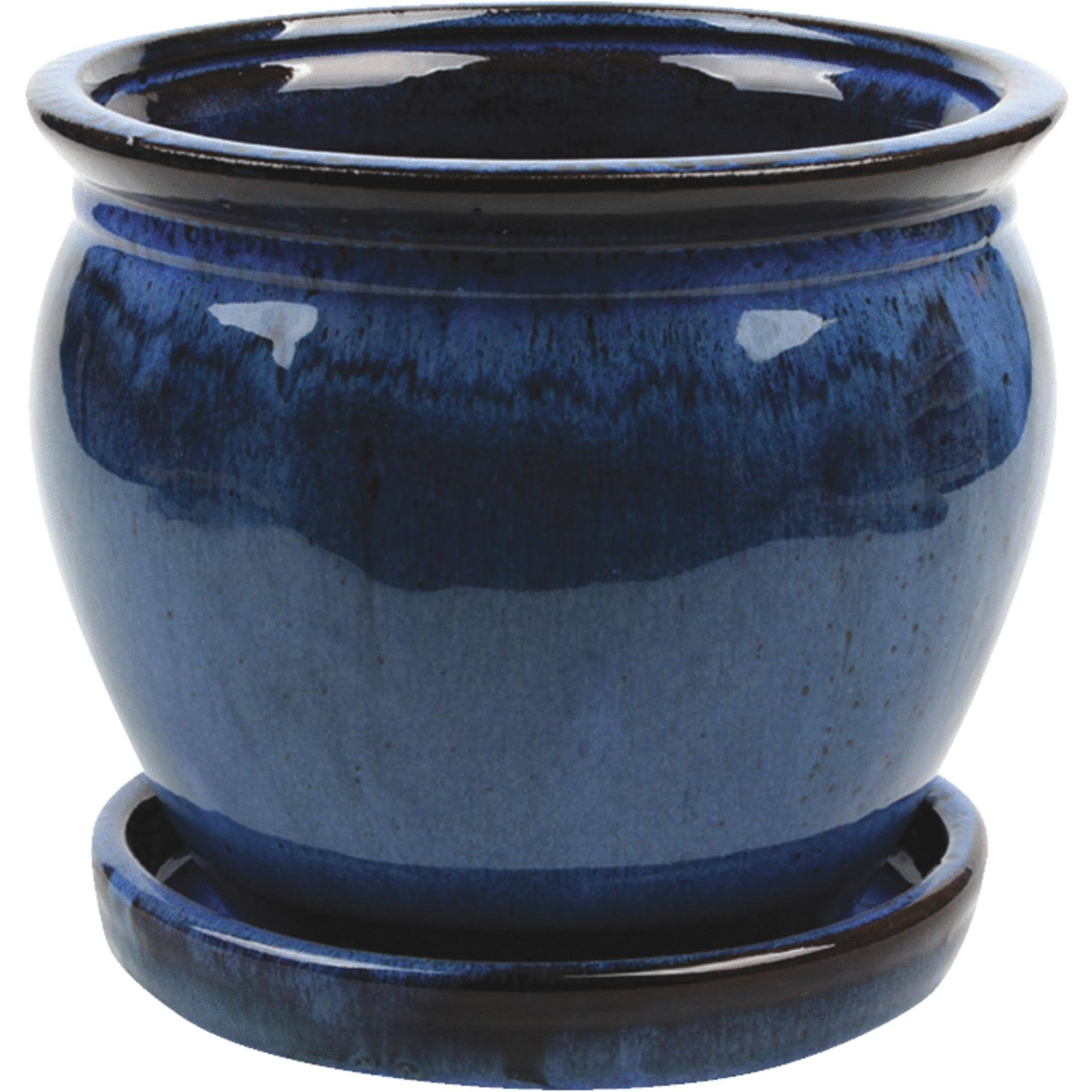 Southern Patio Wisteria Planter - Blue, 6""