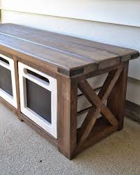 Build Outdoor Storage Bench by 25 Best Outdoor Storage Ideas On Pinterest Patio Storage