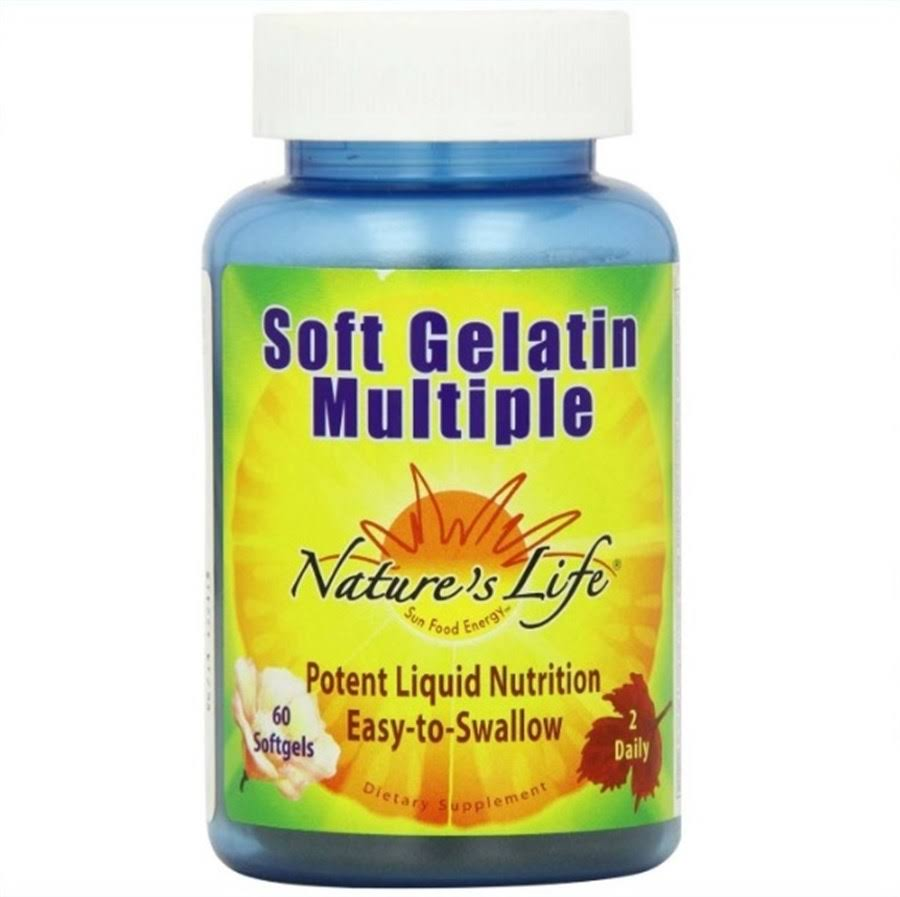 Nature's Life Soft Gelatin Multiple Supplement - 60ct